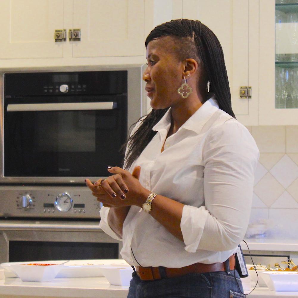 Tukwini Mandela launches House of Mandela Sauvignon Blanc at the LCBO.