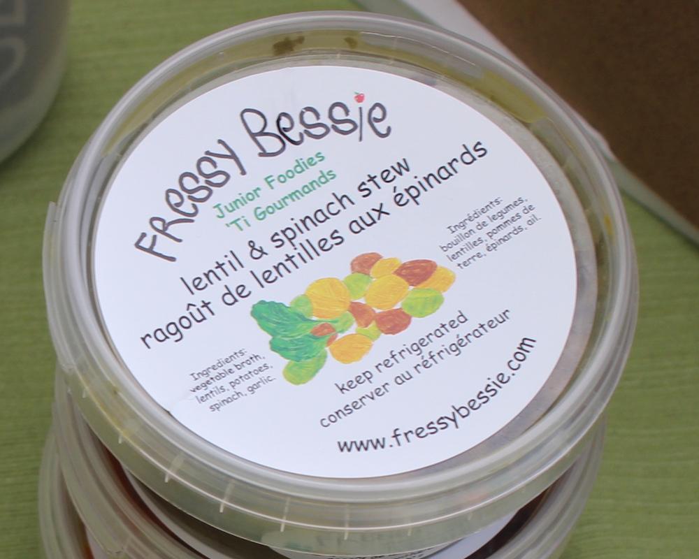 Fressy Bessie Lentil and Spinach Stew