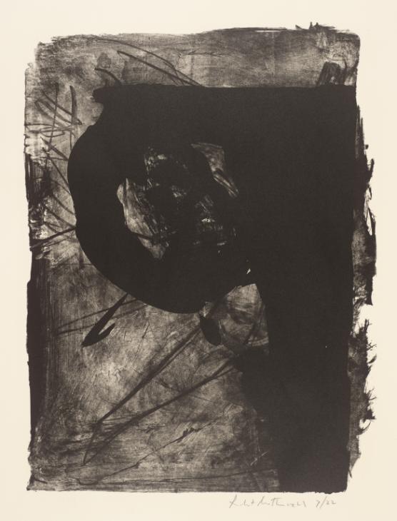 Poet (1) 1961 by Robert Motherwell 1915-1991