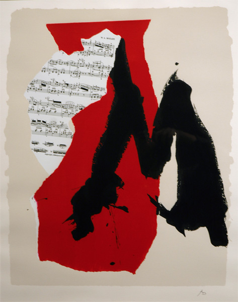 robert motherwell collage