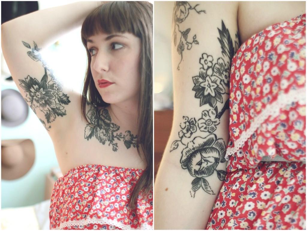 flower-inner-arm-tattoo-girls