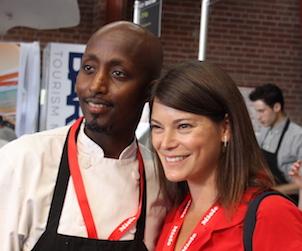Bashir Munye and Gail Simmons 302