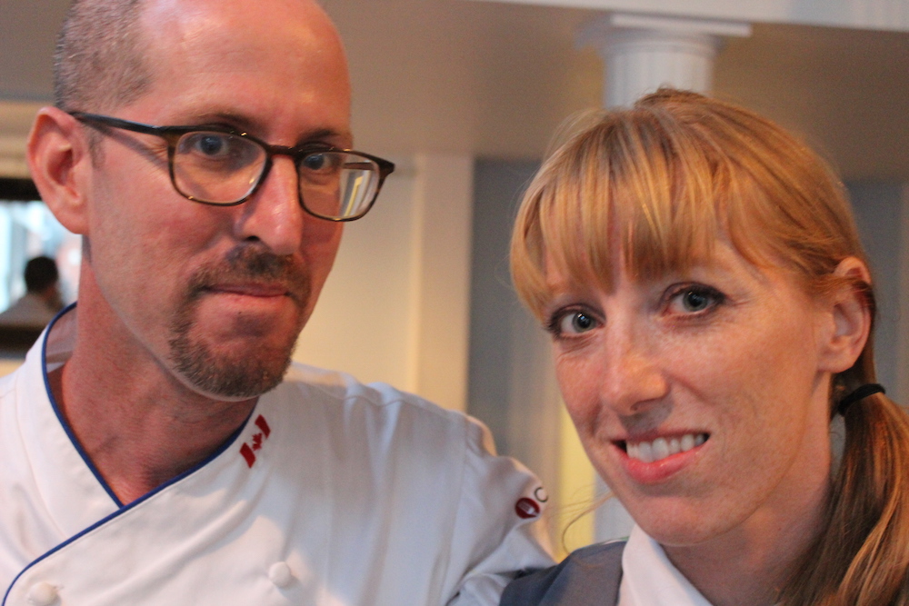 Chef Eyal Liebman and Sommelier Rebecca Meir-Liebman
