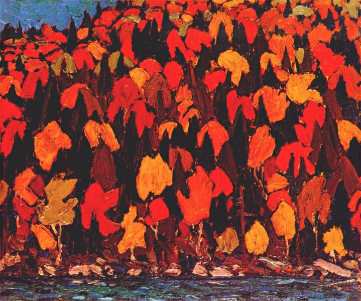 TomThomson-Autumn-Foliage-DateUnknown