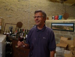 Guy Van Lancker of Domaine Combe Blanche - a man who does things a little differently in Minervois.
