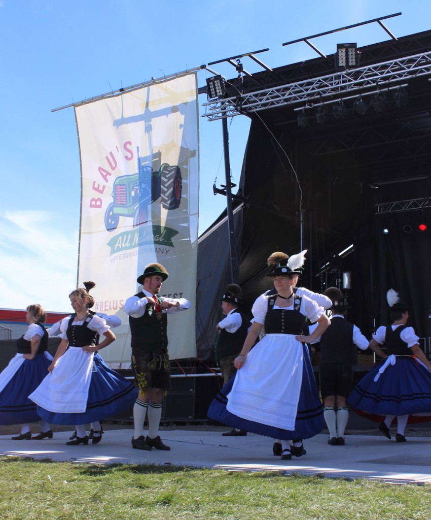 German folk dancers