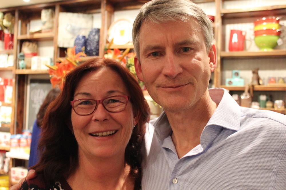 Sue Bowman and Nick Saul