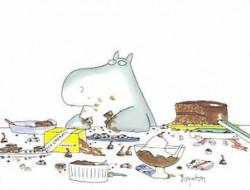 Boynton Chocolate Hippo
