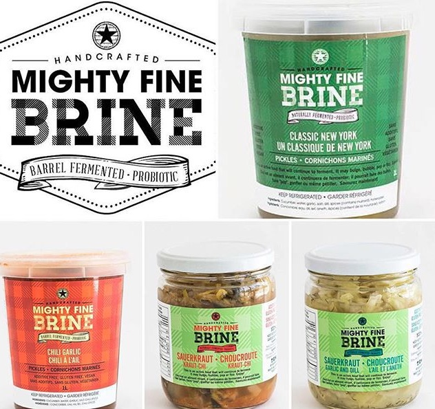 Mighty Fine Brine Pickles