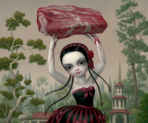 Mark Ryden Meat Dancer Detail 302
