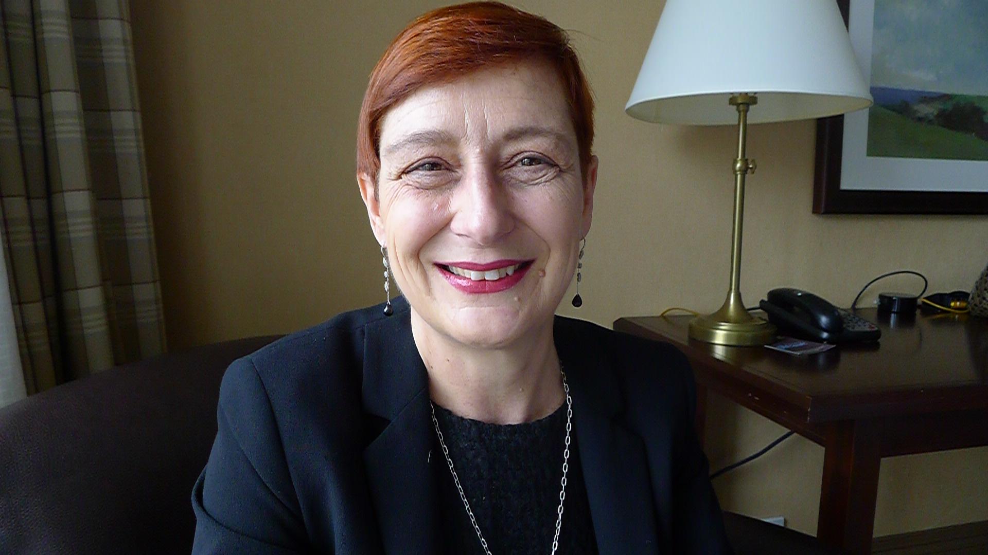 Marilena Cocci Grifoni visited us in Toronto for The Vine's portfolio tasting in 2015.