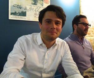 Winemaker Emilio Foradori at Actinolite.