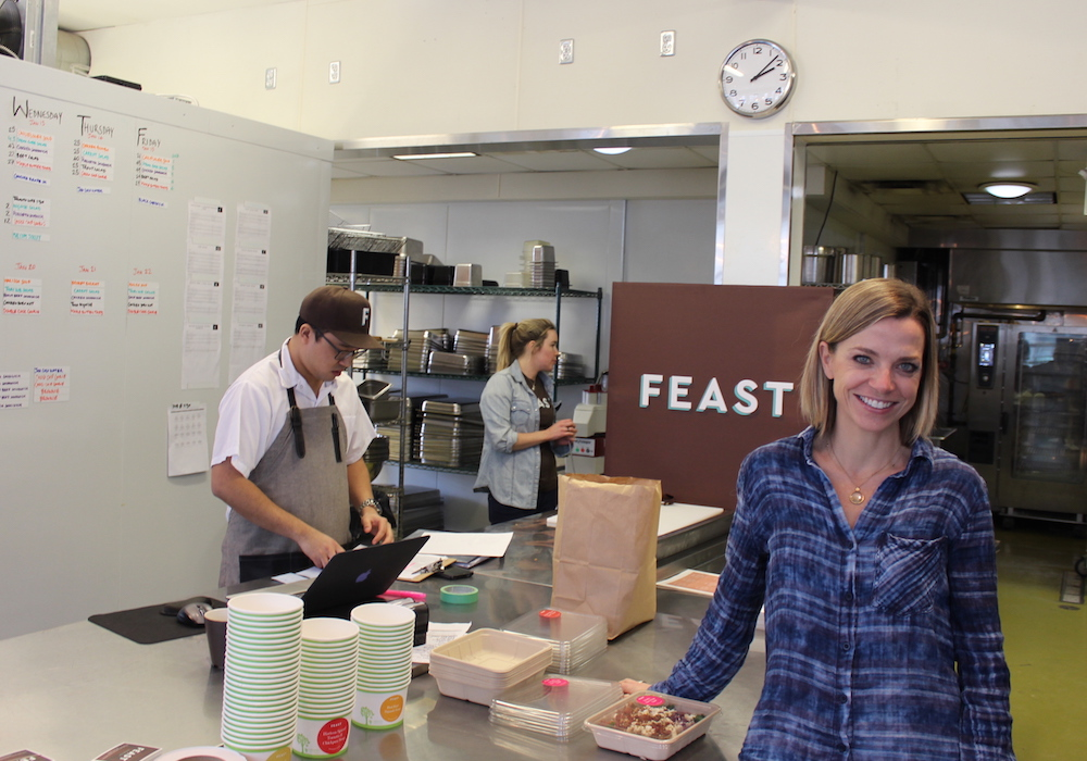 Trish Magwood directs the food experience at the Feast App in Toronto