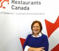 President and CEO of Restaurants Canada (formally the CFRA), Donna Dooher, at their new home on Queen West.