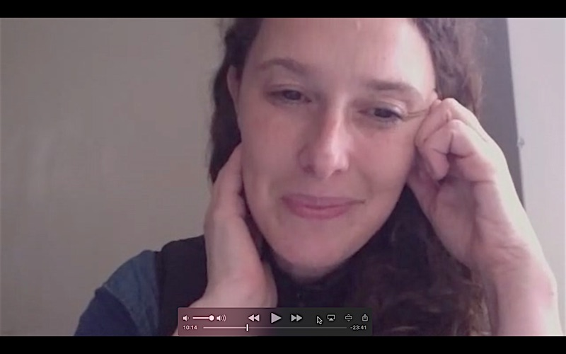 Rachel Roddy in conversation on Skype from Testaccio, Rome.