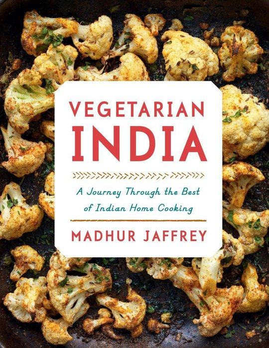 Madhur Jaffrey - Vegetarian India... Available from Good Egg, Kensington Market.