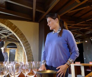 Gaia Gaja leads us through a detailed tasting at her family's Brunello property in Tuscany.