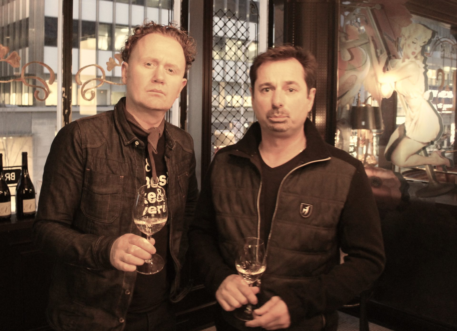 Jamie Drummond and Xavier Vignon