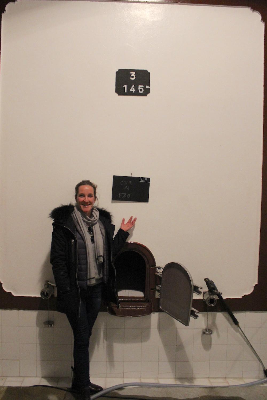 Kristy Manahan at Beaucastel