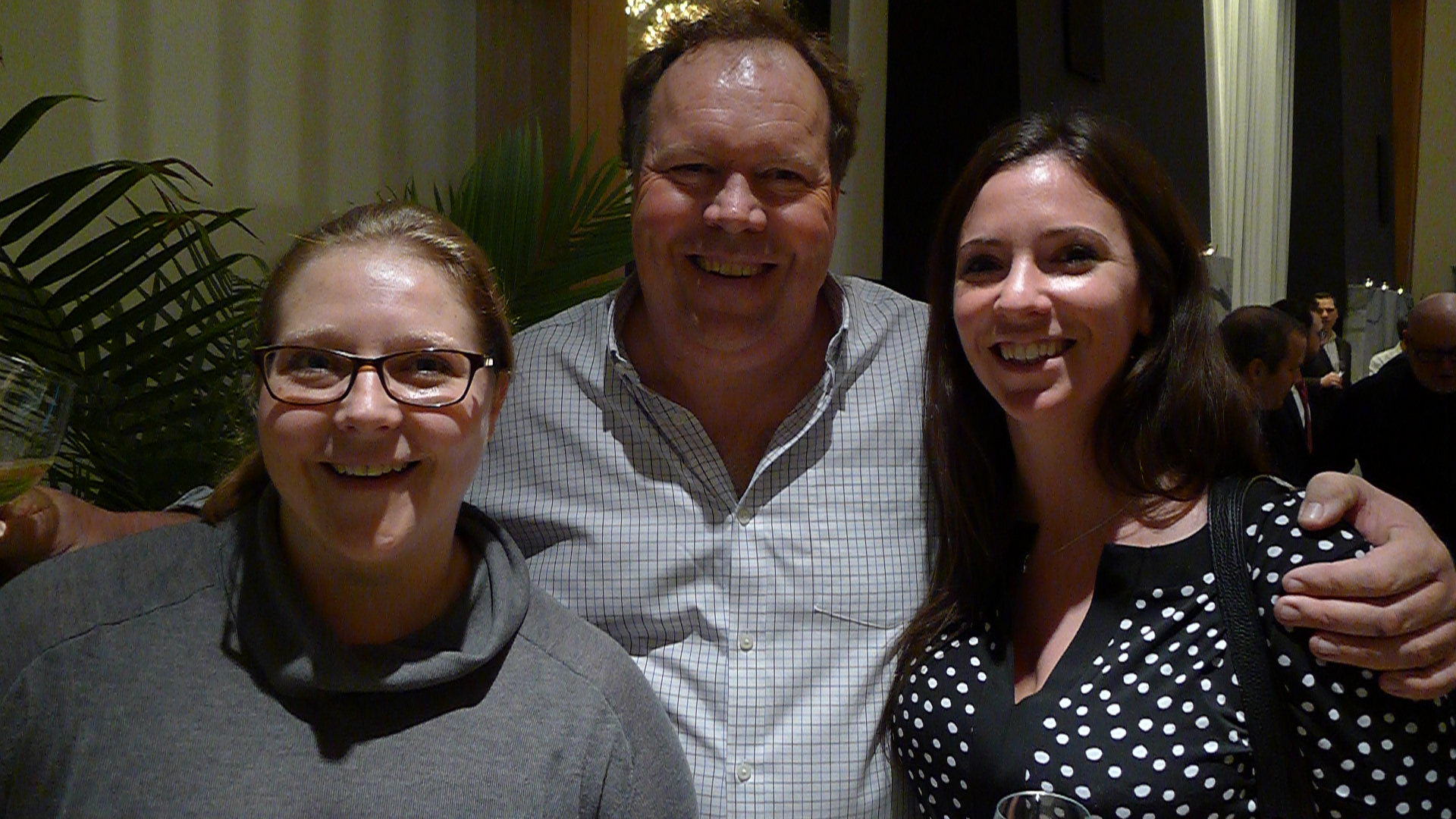 Katy Moore (The Case For Wine), Winemaker Norman Hardie, and Brae Mason (Langdon Hall).