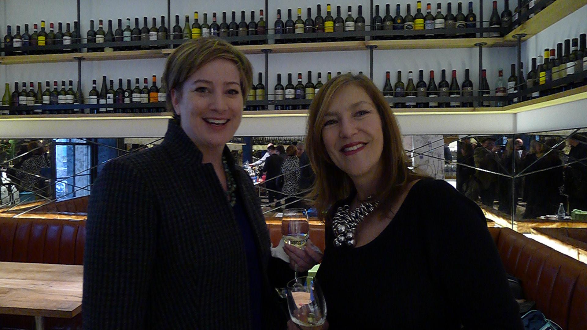 Johanna Pigeon and Michelle Paris (CAPS).