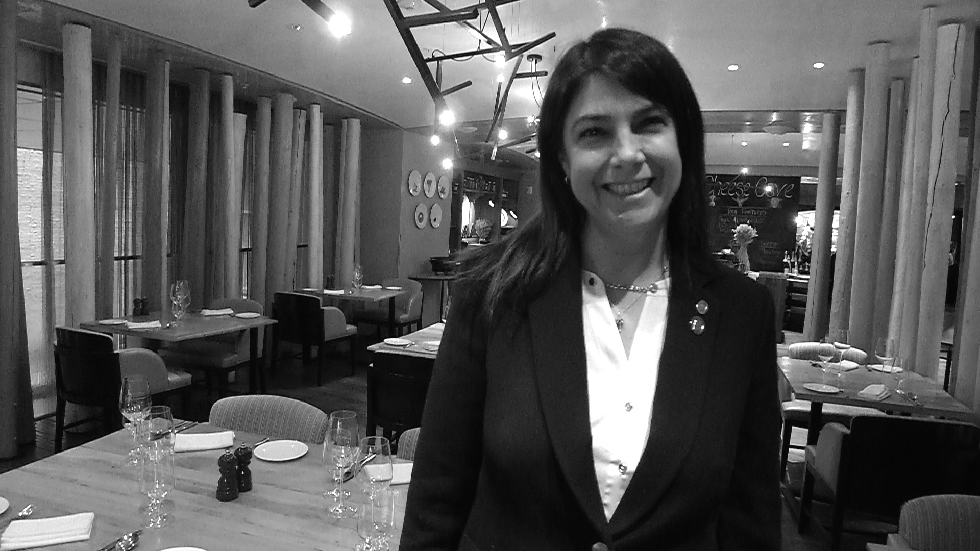 Sommelier Lorie O'Sullivan at The Ritz-Carlton, Toronto.
