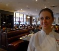 Biff's Chef de Cuisine Amanda Ray is enjoying her restaurant's new look.