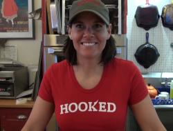Kristin Donovan at Hooked