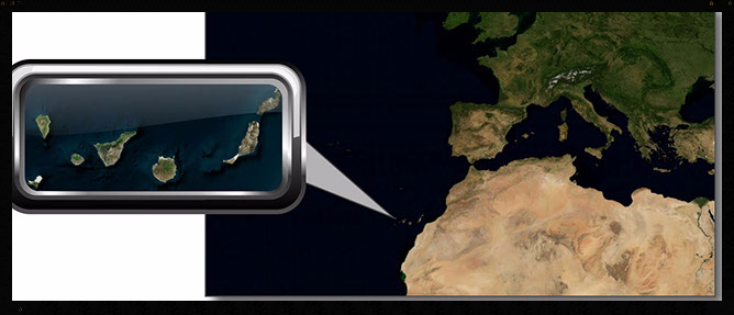Canary Islands Location