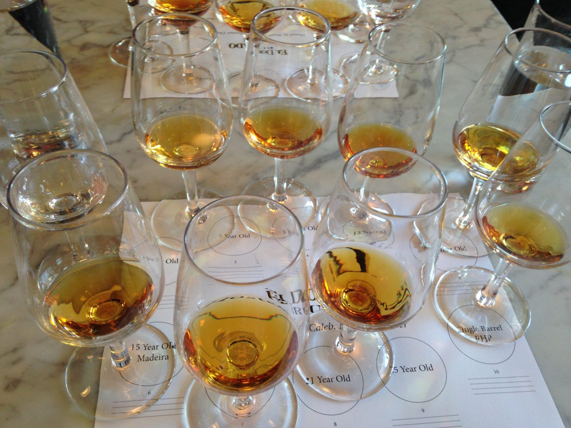 El Dorado Rum Tasting