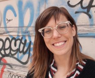 Cornelia Tessari and her award-winning smile.