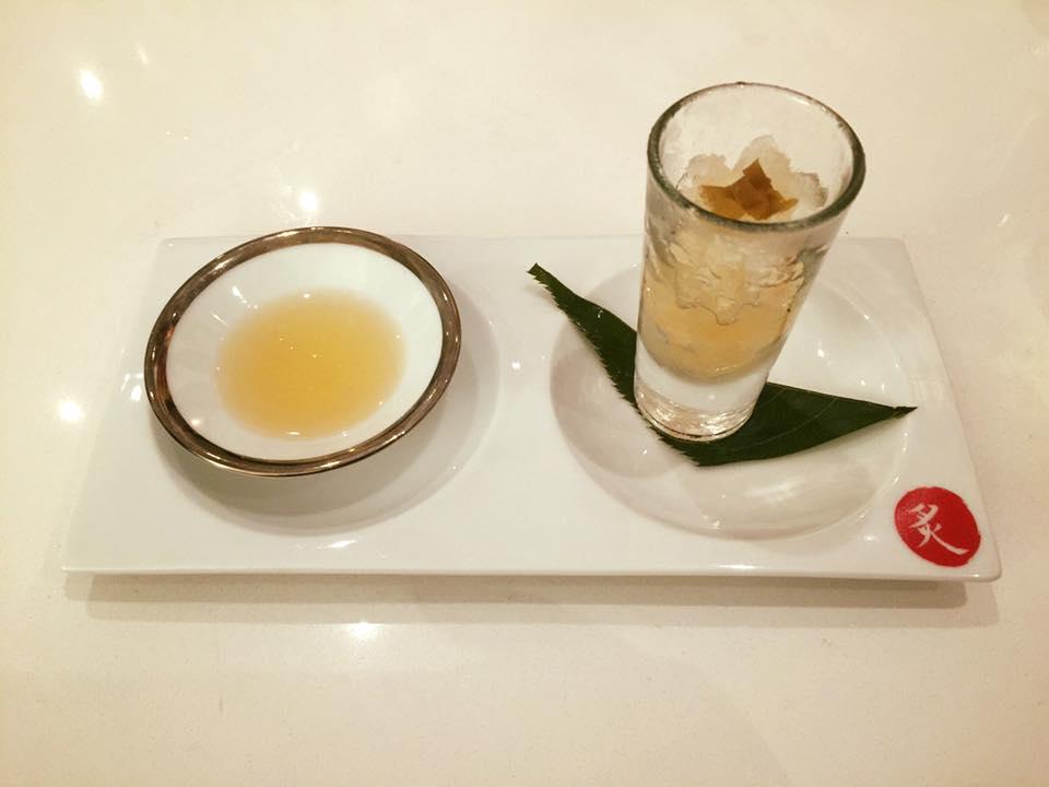Umeasha Granita prepared with Kozaemon