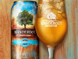 Wanderoot Craft Cider... made by Molson, and it's terrible.