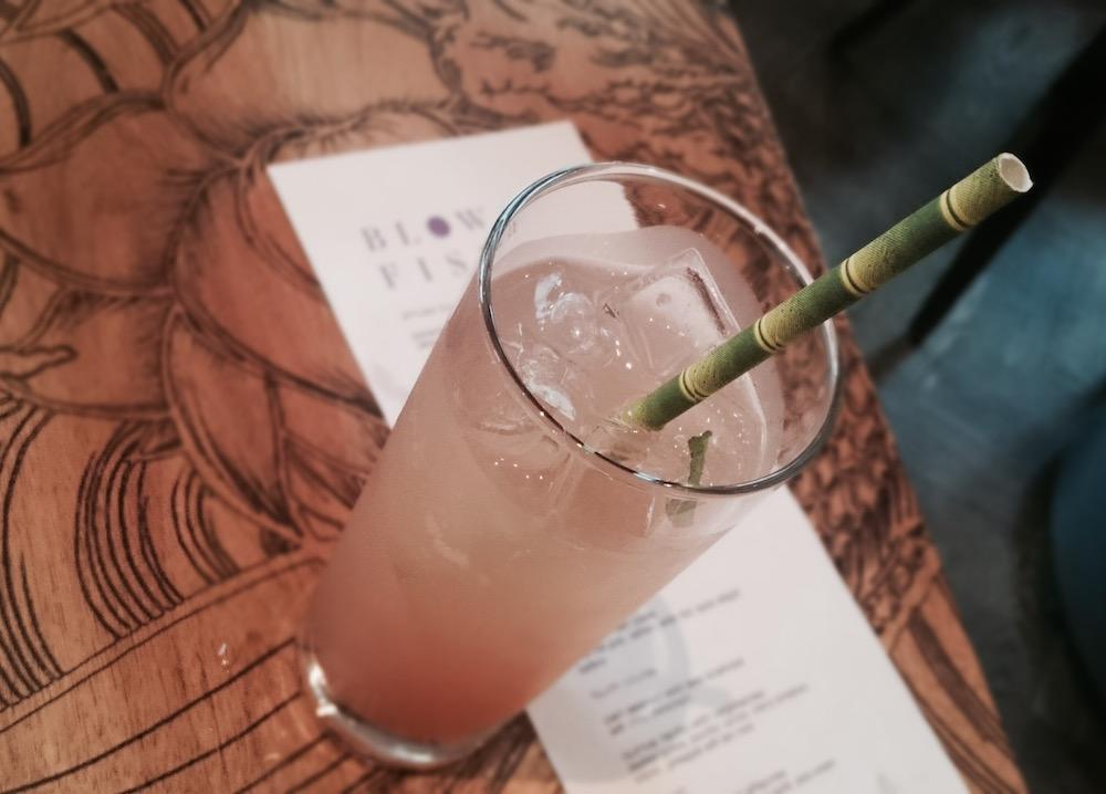 Blowfish cocktail