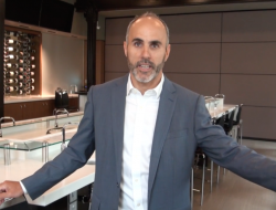 Adrian Caravello welcomes students to George Brown College's tasting laboratories for the Advanced Wine and Beverage Business Management Program.
