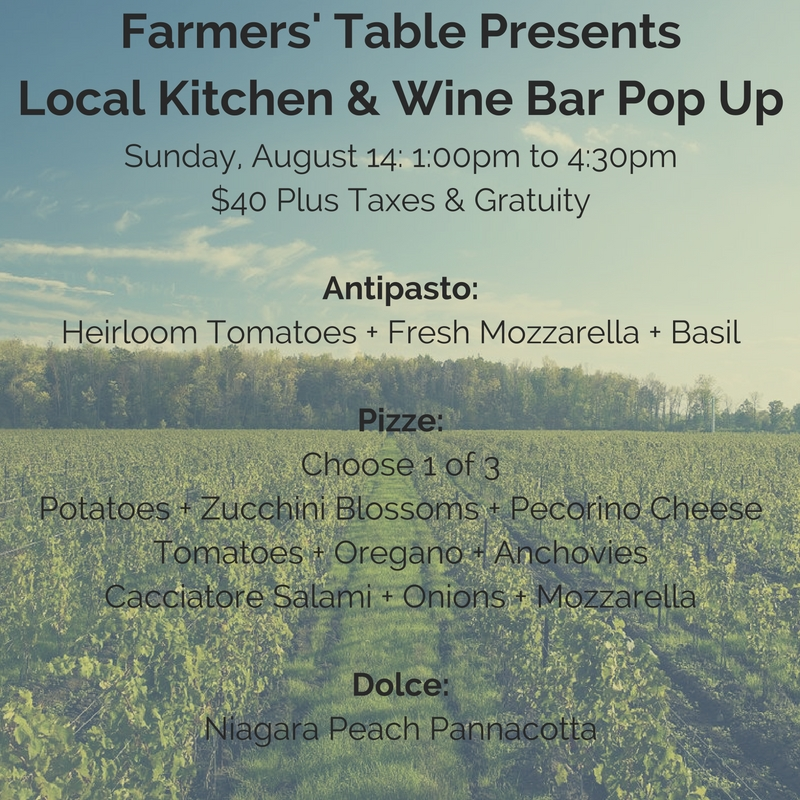 Farmers' Table Presents