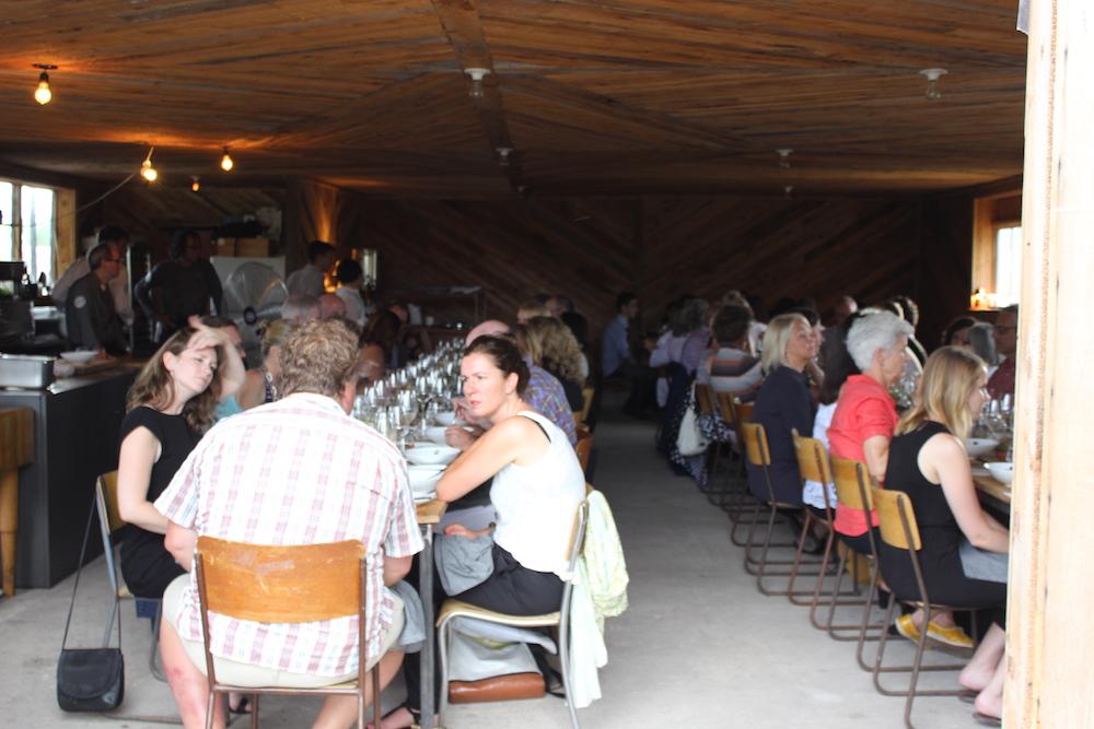 Jamie Kennedy Farm Dinner Barn Interior