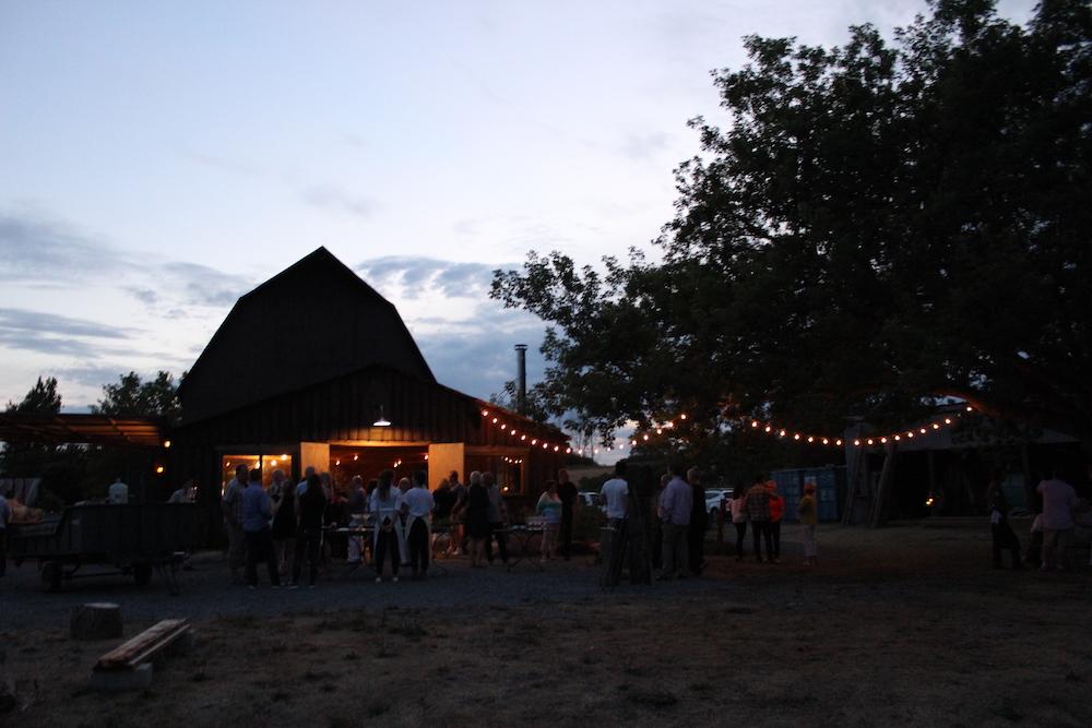 Jamie Kennedy Farm at Nightfall