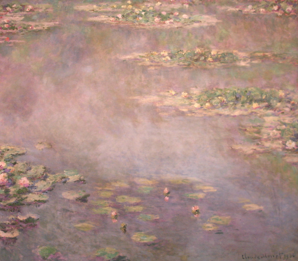 Pink Water LiliesClaude Monet