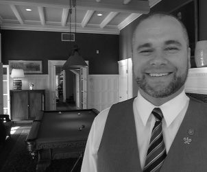 Sommelier Elliot has just taken on a position at the prestigious Langdon Hall.