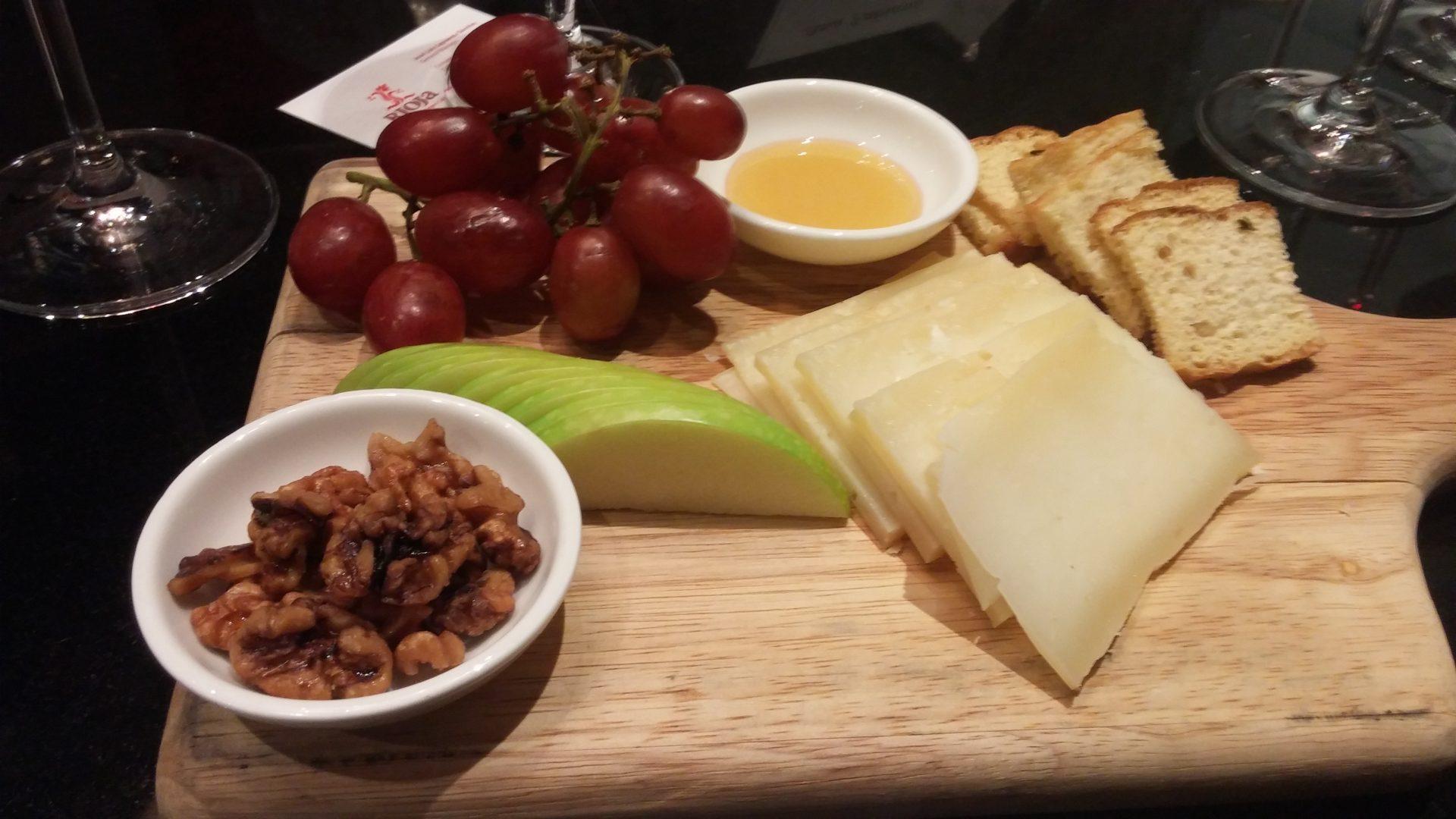 Cape Vessey cheese board