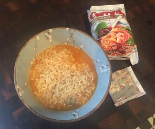 Yes, that's right... I'm recommending some instant noodles... but not your usual noodles.