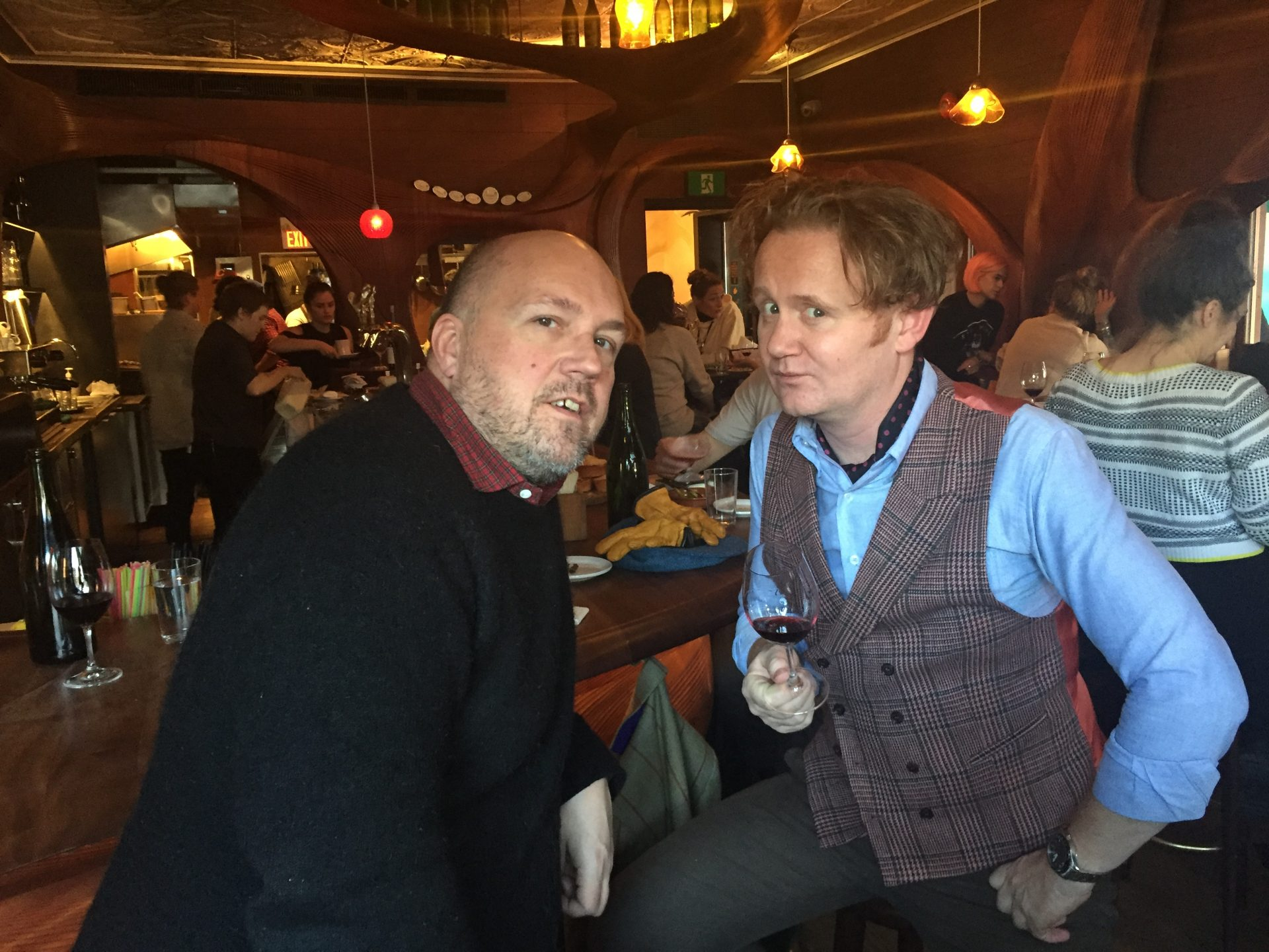 Entertaining Horsemeat Disco's Severino at Toronto's Bar Raval. See #19