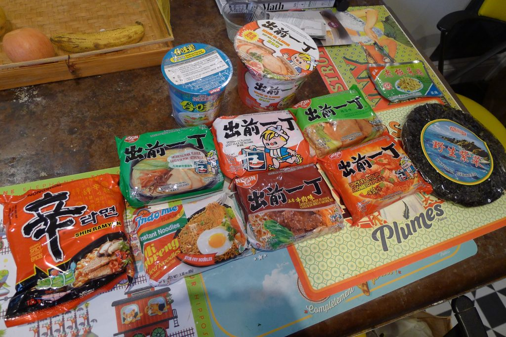 There's a dizzying array of instant noodles available out there, as a trip to any Chinatown supermarket noodle section will prove. It's all a matter of finding out which brand and flavour works best for you.