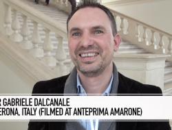 Winemaker Gabriele Dalcanale Of La Dama, Verona, Italy.