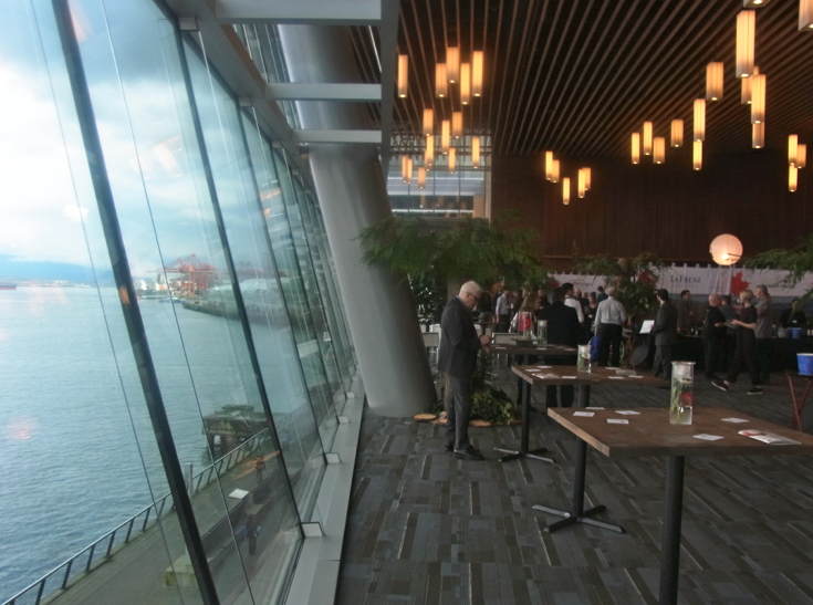 The Tasting Lounge at the Vancouver International Wine Festival