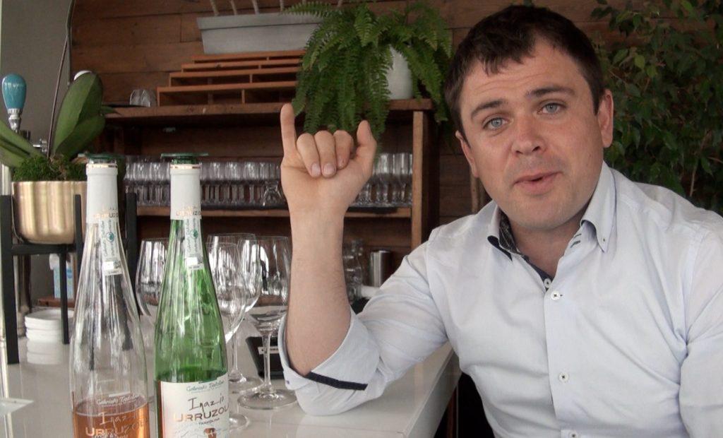 Xabier Urruzola introduces Good Food Revolution to the many pleasures of his Getariako Txakolina DO wines.