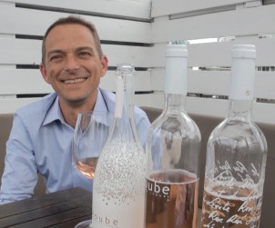 Winemaker Romain Ott is quite proud of his range of Château Leoube rosés, and rightfully so.