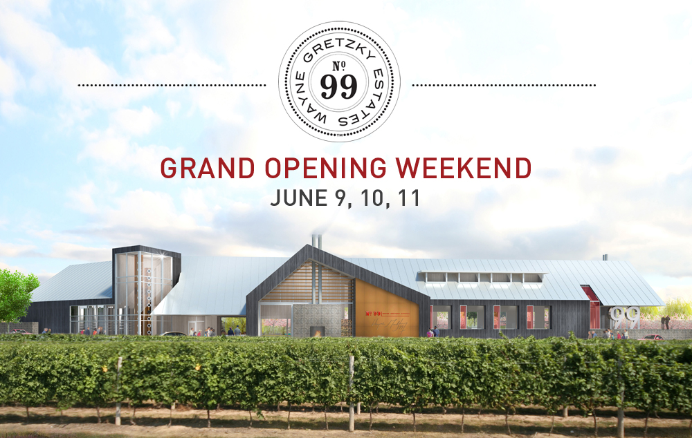 Wayne Gretzky Estates Winery Amp Distillery Grand Opening