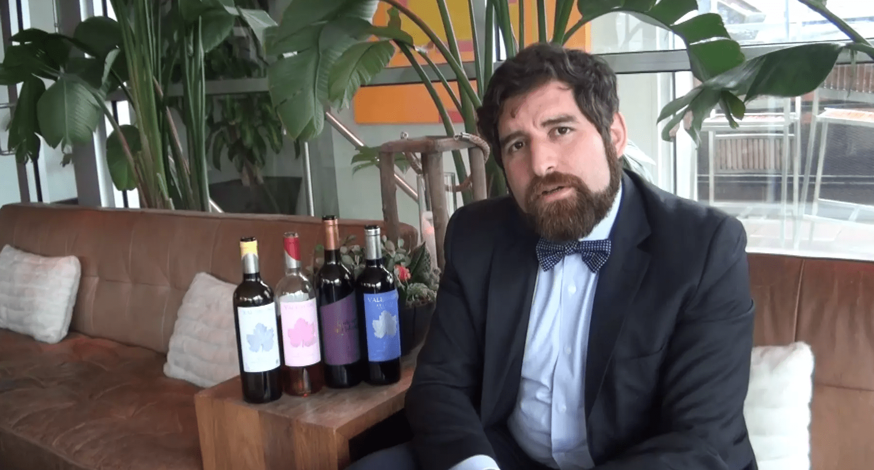 Diego Santana from Bodegas Valenciso explains why he find Rioja, on the whole, to be a little behind with the times.
